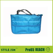 Cheapest Classic Nylon Travel Handbag Organizer Bag in Bag ,baby bag organizer with InsertedPockets Hot Sell At Every Year