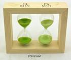 3,5min wooden hourglass