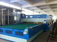 toughening glass machine with blower colling system