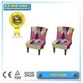 Multi- cor poltrona design/lazer cadeira/patchwork cadeira