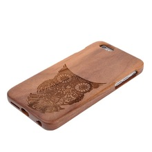 Genuine Handmade wood case for iphone 6 plus,for iphone 6 plus wood phone case
