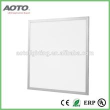multiple installation options 595x595mm 40W flat frame LED panel