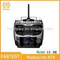 Mais rápido RadioLink AT9 2.4 GHz 9 canais remoto RC controle de rádio transmissor para Multicopter Quadcopter Drones
