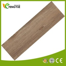 Household PVC Vinyl Wood Texture Floor Tile For Home Decoration