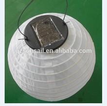 Chinese party hanging silk solar lantern