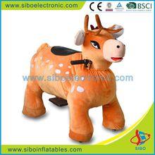 GM5954 Newest electronic happy amusement rides,animal rides giraffe for children