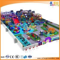 Indoor amusement park equipment for children