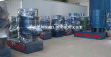 Plastic agglomeration machine/plastic compactor machine
