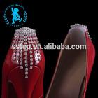 Crystal Metal Shoe Buckle Parts Decoration Shoe Accessory(XS008)