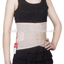 curved breathable lower back belt, medical back support belt for ladies only