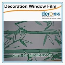 Dero glass self adhesive glue for pvc film