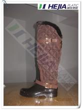 stivali di gomma gamba larga nuovo stile 2015 caldi interni fashiontoddler galosce