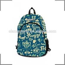 2014 KOSTON branding Graffiti alphabet cool designs backpack KB123
