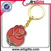 Promotion cheap square shape acryllic key chain