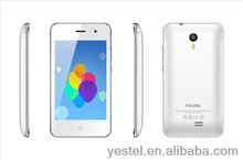 Yestel facetel 4.0 qualified smart phone T4 dual sim card with low price, OEM Andriod smart phone