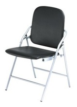 Folding Chair with Metal Legs