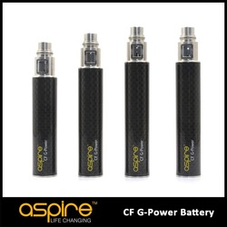 Aspire CF G Power Battery--china supply 650-1600mah 100% original Aspire CF G Power Battery king mod ecig mod 26650