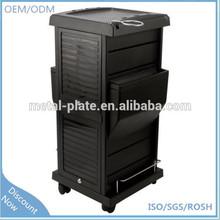 Moden hair salon storage cabinet