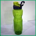 2015 espacio botella de agua de plástico en la bella de Color púrpura para la promoción / regalo / botella espacio deporte