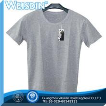 160 grams hot sale 100% organic cotton custom v neck t shirts for women