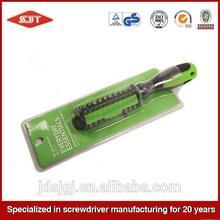 Cheap hot-sale screwdriver 7pcs set with plastic case