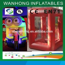 Cheaper price good quality inflatable cash money,money box