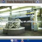 Rotary Trolley Table Shot Blasting Machine/Turntable Sandblaster