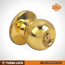 587 stainless steel / Good quality & good price/ Cylindrical or Tubular Lock with knob