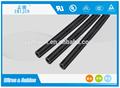 Silicone insualtion tubo de alta temperatura tubo de silicone