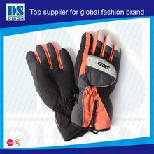 Dison new custom organe and black softball gloves with wholesale price cheap and fine