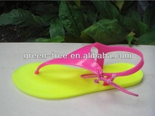 Jelly sandal sex nude china girl photo 2014 women flat shoes