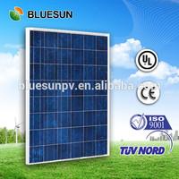 Bluesun whole sale cheap 12v 190w solar panel FOB