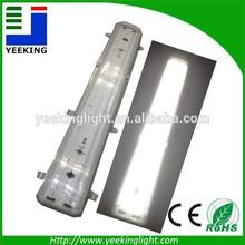 fluorescent light fixture double tube 2x22w lighting bracket THREE PROOFING LAMP