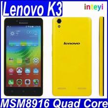 New Cheap Original Lenovo K3 Music Lemon Quad Core Dual Sim 4G LTE Wifi Android 4.4 Mobile Phone in Stock