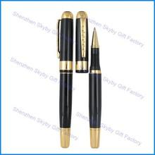 MP173 Metal Black Gold Crown Ballpoint Pen
