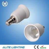 factory PBT materials E14 to E27 lamp adapter