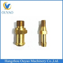 Brass prototype manufacture factory, brass parts with bell mouth customized