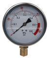 contacto eléctrico de medidor de presión