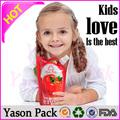 aliments pour bébés yasonpack plastques jus liquide bec poche