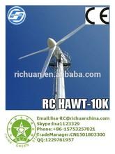 For Energy European Market 10KW Horizontal Wind Turbine Generator Alternative Energy