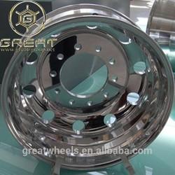heavy truck alloy wheel rim 22.5x9.00 for tyre 12r22.5