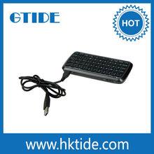 Promotional Wireless Bluetooth Flexible Waterproof Keyboard With Power Bank