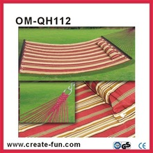 OM-QH 112 hanging swing Open size:200*140 cm Quilted Hammock