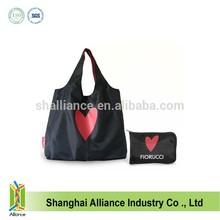 Promo Customized Reusable Foldable Shopping Bag with customized logo printing