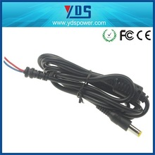 factory manufacture electrical wire cable 5.5*2.5mm dc power cord adapters with the length of 1.5m