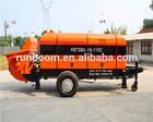 Hot sale Diesel engine portable concrete pump
