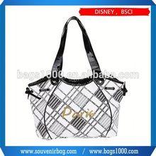 oem clear pvc shopper tote bags