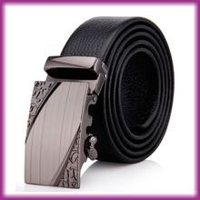 2015 Wholesale Cowhide Men's Automatic Buckle Leather Belt