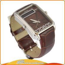 Designer Crazy Selling leather strap lover watch
