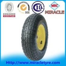 Small Full Range Pneumatic Rubber Hand Trolley Wheelbarrow Wheel 4.00-6 Heavy Duty